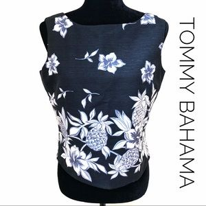 Tommy Bahama Silk Cropped Tank top
